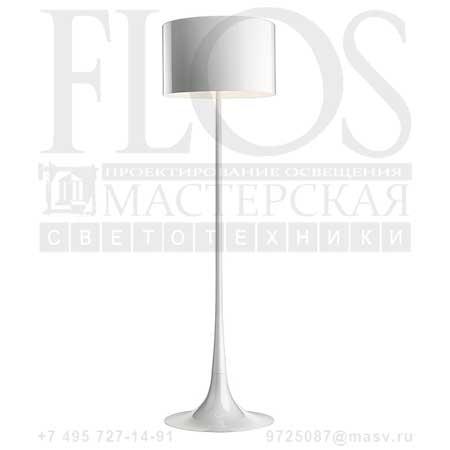 SPUN LIGHT F EUR BCO F6612009 блестящий белый, Flos