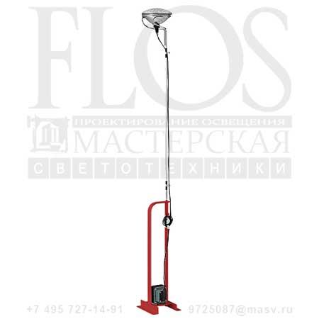 TOIO EUR RSO F7600035 красный, Flos