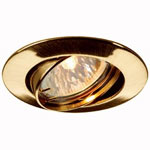 SLV 111173 PIKA TURNO светильник встр. MR16 50Вт макс., золото