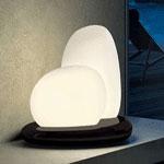 0706051363602 настольная лампа MOAI Leucos