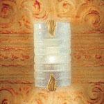 0205311363502 настенный светильник FLAMINIA P1 Leucos