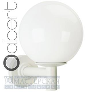 680802 Настенный светильник A 65 150W, E27, белый, Albert