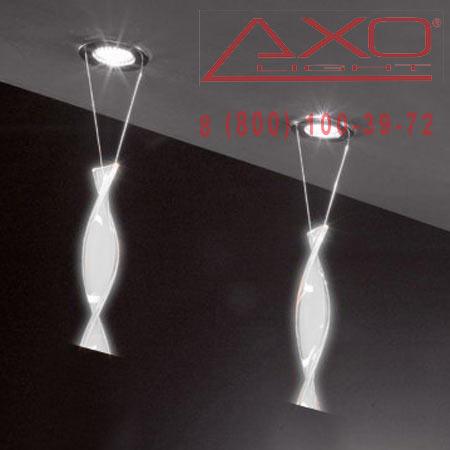 встраиваемый светильник AXO Light FAAURA44BCCR12V AURA