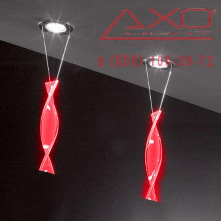 AXO Light AURA FAAURA44RSCR12V встраиваемый светильник красный