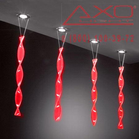 AXO Light AURA FAAURA60RSCR12V встраиваемый светильник красный