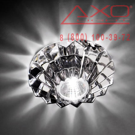 встраиваемый светильник AXO Light FANASHIRCSTR12V CRYSTAL SPOTLIGHT