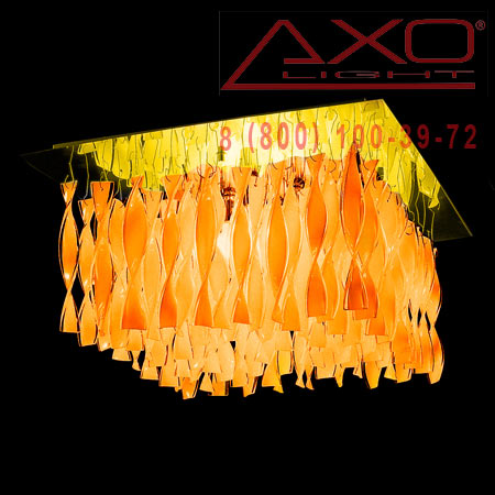 потолочный светильник AXO Light PLAUG30IARORE27 AURA