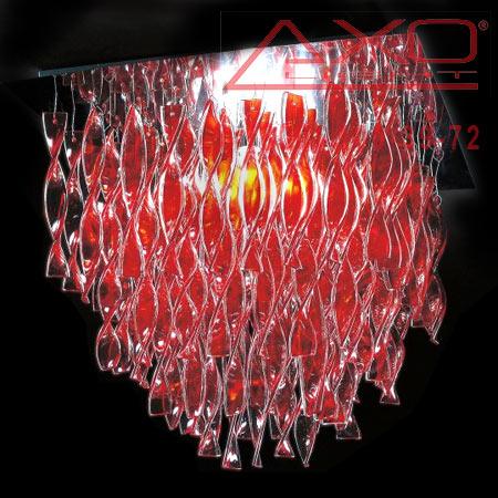 потолочный светильник AXO Light PLAURAGRRSCRE27 AURA
