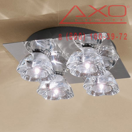 потолочный светильник AXO Light PLPRIMU4CSCR12V PRIMULA