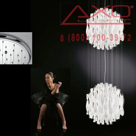 подвесной светильник AXO Light SPAU452BCCRE27 AURA