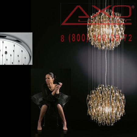 подвесной светильник AXO Light SPAU452TACRE27 AURA