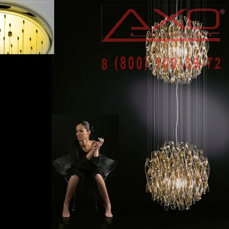 подвесной светильник AXO Light SPAU452TAORE27 AURA