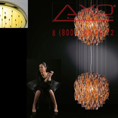 подвесной светильник AXO Light SPAU602ARORE27 AURA