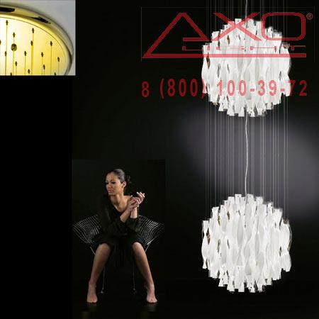 подвесной светильник AXO Light SPAU602BCORE27 AURA