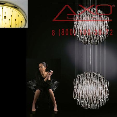 подвесной светильник AXO Light SPAU602NEORE27 AURA