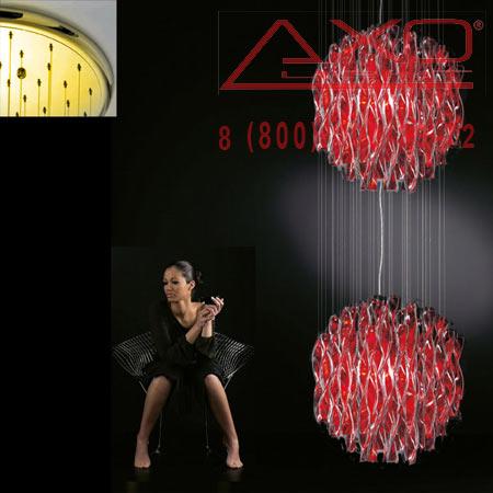подвесной светильник AXO Light SPAU602RSORE27 AURA