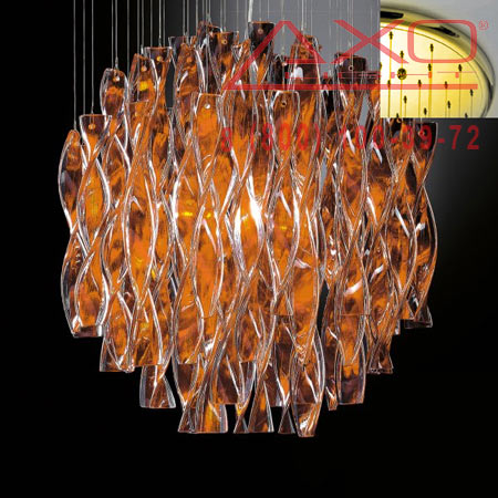 подвесной светильник AXO Light SPAURA60ARORE27 AURA
