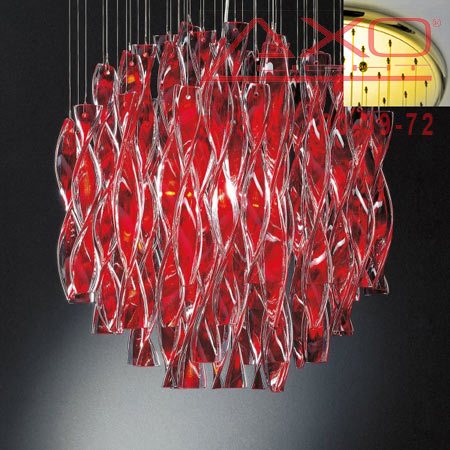 подвесной светильник AXO Light SPAURA60RSORE27 AURA