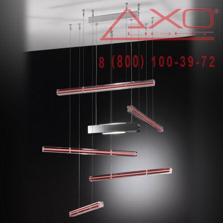подвесной светильник AXO Light SPEXPLI5RSXXR7S EXPLO