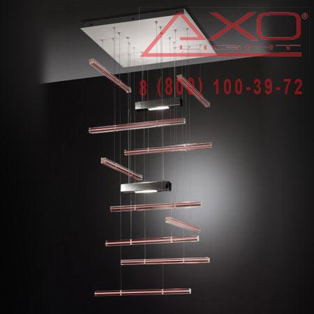 подвесной светильник AXO Light SPEXPQ10RSXXR7S EXPLO