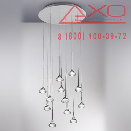 подвесной светильник AXO Light SPFAIR12GRCRLED FAIRY