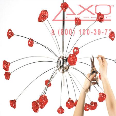 подвесной светильник AXO Light SPSHIR18RSCR12V SHIRAZ