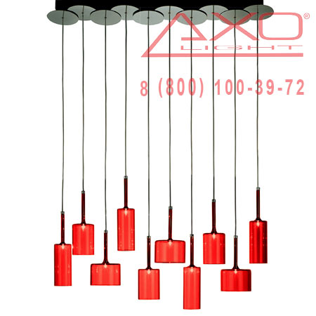 подвесной светильник AXO Light SPSPIL10RSCR12V SPILLRAY