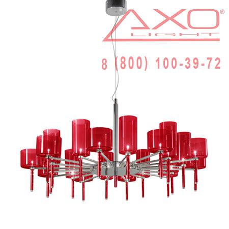 подвесной светильник AXO Light SPSPIL20RSCR12V SPILLRAY