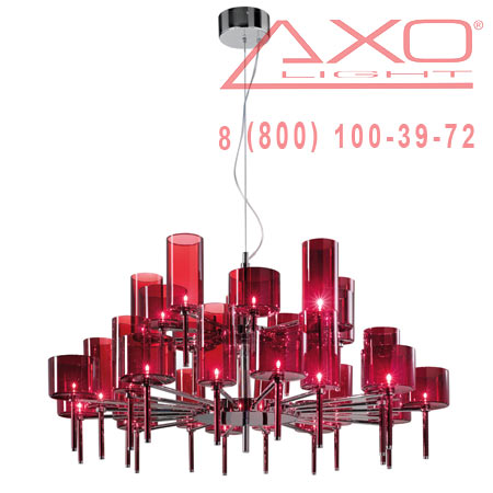 подвесной светильник AXO Light SPSPIL30RSCR12V SPILLRAY
