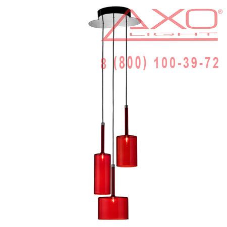 подвесной светильник AXO Light SPSPILL3RSCR12V SPILLRAY