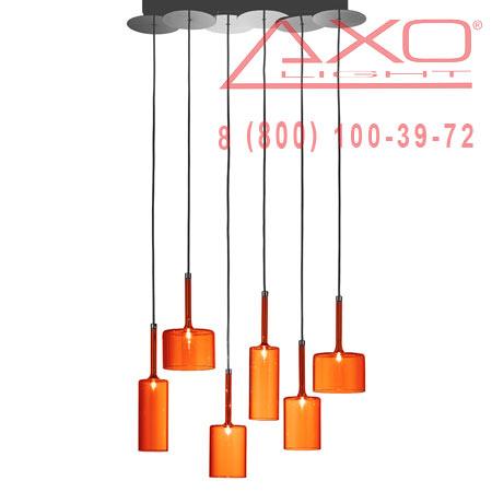 подвесной светильник AXO Light SPSPILL6ARCR12V SPILLRAY