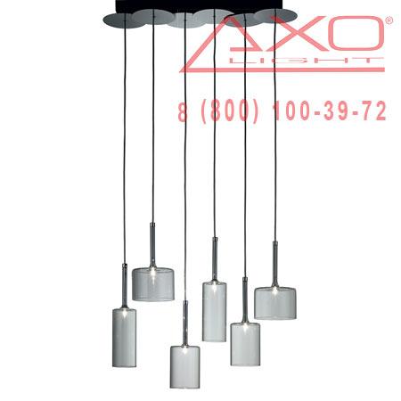 подвесной светильник AXO Light SPSPILL6CSCR12V SPILLRAY