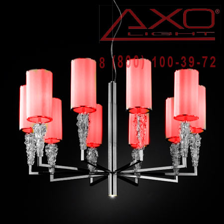 подвесной светильник AXO Light SPSUBZ10RSCRE14 SUBZERO