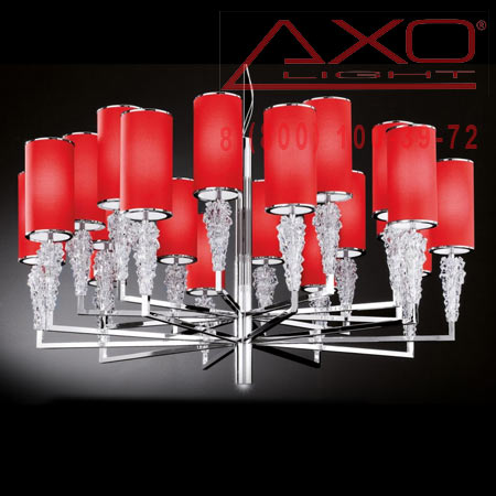 подвесной светильник AXO Light SPSUBZ20RSCRE14 SUBZERO