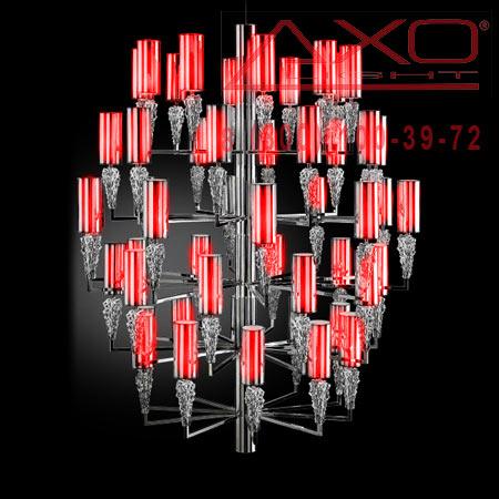 подвесной светильник AXO Light SPSUBZ50RSCRE14 SUBZERO