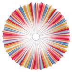 AXO Light MUSE PLMUS120MCXXE27 потолочный светильник многоцветный