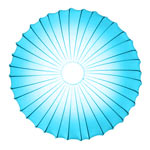 AXO Light MUSE PLMUSE80AZXXE27 потолочный светильник светло-голубой