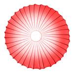 AXO Light MUSE PLMUSE80RSXXE27 потолочный светильник красный