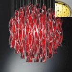 AXO Light AURA SPAURA45RSORE27 подвесной светильник красный