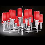 AXO Light SUBZERO SPSUBZ20RSCRE14 подвесной светильник красный