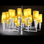 AXO Light SUBZERO SPSUBZ20VACRE14 подвесной светильник ванильный цвет