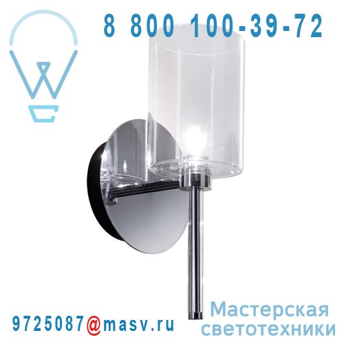 APSPILLRCSCR12V Applique Transparent - SPILLRAY AXO Light