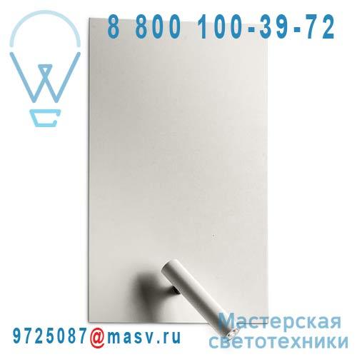 4416/016 Applique Rectangle Metal Nickel - FLAT Alma Light