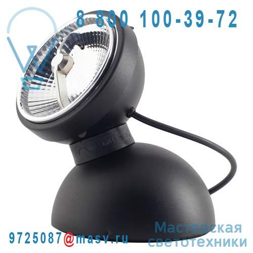 LED10240 Lampe a poser LED Noir - MONOPRO 360° Azimut Industries