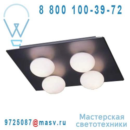 ACON.000052 Plafonnier/Applique Nickel brosse - BOLLA 4 Contardi