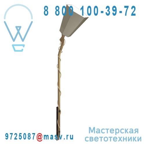 Gam223lkb Applique Kaki/Blanc L - LUXIOLE DesignHeure