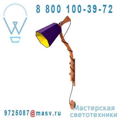 Pam110vj Applique Violet/Jaune S - LUXIOLE DesignHeure