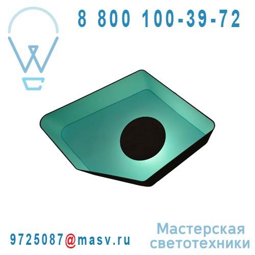 A90nmt Applique Marron/Turquoise - PETIT NENUPHAR DesignHeure