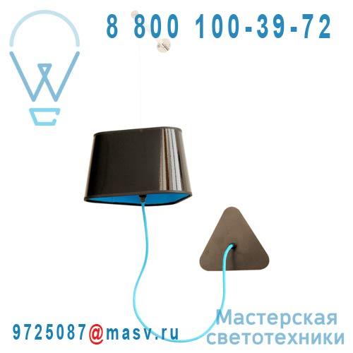 Ampnn Applique Noir/Bleu avec bras - PETIT NUAGE DesignHeure