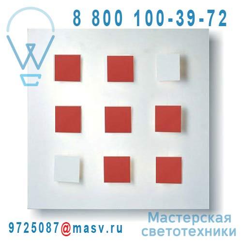 I409 V05 Tableau lumineux/Applique Blanc V05 - METALO 9 Dix Heures Dix